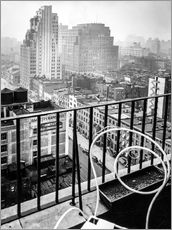 Wall sticker  New York: View from penthouse, 56 Seventh Avenue, Manhattan - Christian Müringer