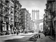 Gallery print  Historic New York: Pike and Henry Streets, Manhattan - Christian Müringer