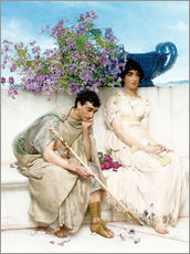Wall sticker  An Eloquent Silence - Lawrence Alma-Tadema