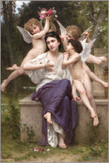 Wall sticker  A Dream of Spring - William Adolphe Bouguereau