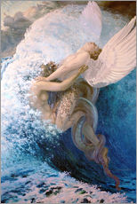 Wall sticker  Spleen and Ideal - Carlos Schwabe