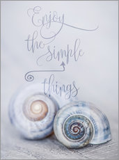 Wall sticker  Simple Things - Andrea Haase Foto