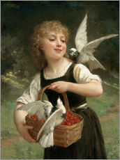 Gallery print  Messenger of Love - Emile Munier