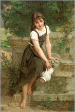 Gallery print  At the fountain - Emile Munier