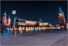Wall Stickers  World Famous Cracow Main Square