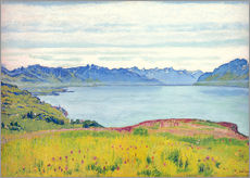 Wall sticker  Landscape at Lake Geneva - Ferdinand Hodler
