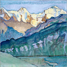 Wall sticker  Jungfrau, Mönch and Eiger - Ferdinand Hodler