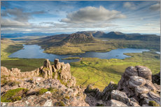 Wall sticker  View from Stac Pollaidh in Scotland - Michael Valjak