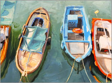 Gallery print  Fishing boats - Johnny Morant