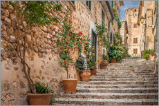 Gallery print  Fornalutx - Most beautiful village in Majorca - Christian Müringer