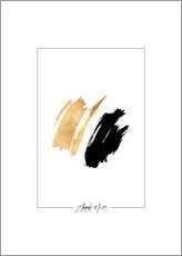 Gallery Print  Abstract No.09 - Stephanie Wünsche
