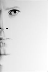 Gallery print  David Bowie minimal portrait - Ileana Hunter