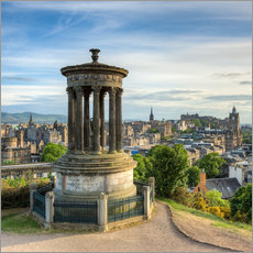 Gallery print  Edinburgh Scotland View from Calton Hill - Michael Valjak
