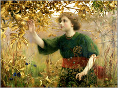 Wall Stickers  A Golden Dream - Thomas Cooper Gotch