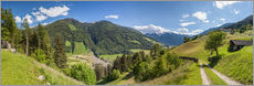 Gallery Print  Hiking trail in the Valle Aurina (South Tyrol) - Christian Müringer