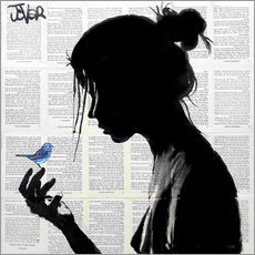 Gallery print  This has told me a little bird - Loui Jover