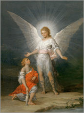 Wall Stickers  Tobias and the Angel - Francisco José de Goya