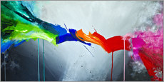 Gallery print  The Colorful 1 - Yannick Leniger