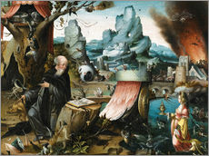 Gallery print  The Temptations of St. Anthony - Hieronymus Bosch