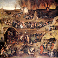 Canvas print  The Inferno - Pieter Huys