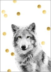Wall Stickers Wolf
