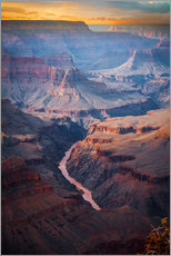 Gallery print  Amazing Sunrise of the Grand Canyon