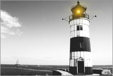 Wall sticker  Lonely lighthouse