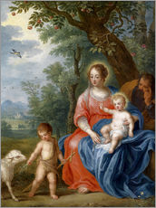 Wall sticker  The Holy Family with John - Jan Brueghel d.J.