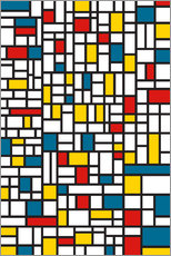 Gallery print  MONDRIAN EXTREME - THE USUAL DESIGNERS