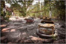 Wall sticker Pripyat bumper car