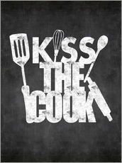 Wall sticker Kiss the cook