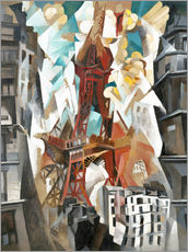 Wall sticker  Champs de Mars: The Red Tower - Robert Delaunay