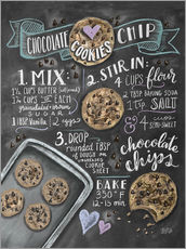 Wall sticker  Chocolate chip cookies recipe. - Lily & Val