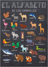 Gallery print  Alphabet of Animals (Spanish) - Kidz Collection