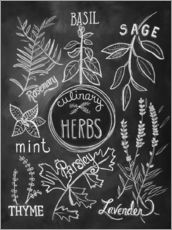 Wall sticker  Herbs - Lily & Val