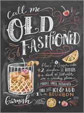 Wall sticker  Old fashioned recipe - Lily & Val