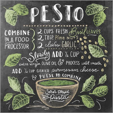 Gallery print  Pesto recipe - Lily & Val