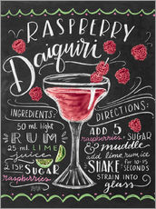 Wall sticker  Raspberry daiquiri receipe - Lily & Val