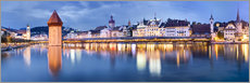Wall sticker  Switzerland - Luzern Panorama - Tobias Richter