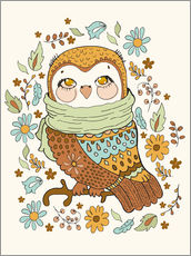 Wall Stickers  Autumn owl - Kidz Collection