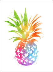 Wall sticker  Colorful pineapple - Mod Pop Deco