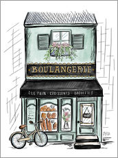 Gallery Print  French Shop Front - Boulangerie - Lily & Val