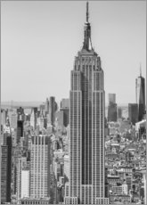 Wall sticker  New York City aerial skyline