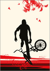 Gallery print  BMX in autumn