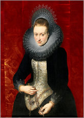 Wall sticker  woman with a rosary - Peter Paul Rubens