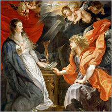 Gallery print  Annunciation to Mary - Peter Paul Rubens