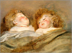 Gallery print  Two Sleeping Children - Peter Paul Rubens