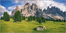 Gallery print  Summer in the Dolomite Alps - Achim Thomae