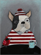 Wall sticker Boston Terrier