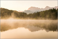 Wall sticker  Summer morning at Geroldsee - Martin Wasilewski